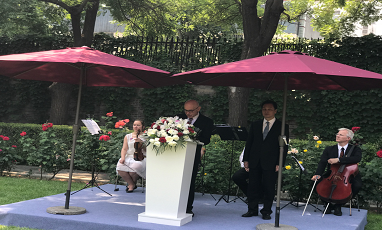 Our chairman were invited to participate in the National Day celebration in Norway