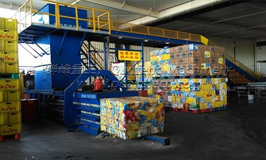 The applications of paper baler machine