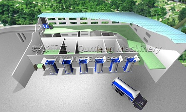 We can provide waste transfer station system