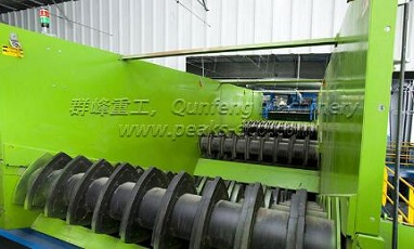 We supply commercial waste recycling system