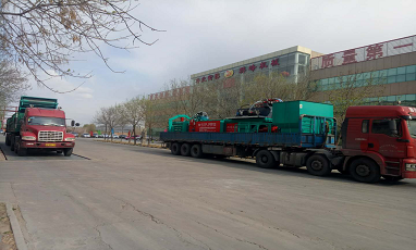 Our waste sorting machine and baler machine are shipping now