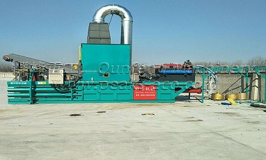 The application of waste paper hydraulic baler machines has been widely expanded