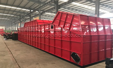 Peaks Eco waste sorting system will be shipped to America