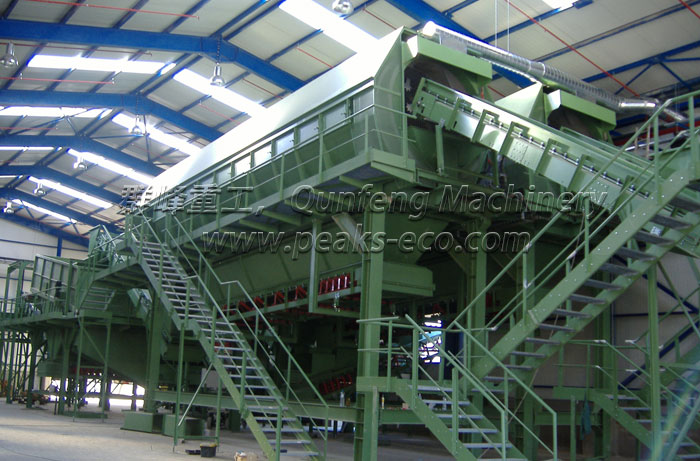Municipal Solid Waste recycling system