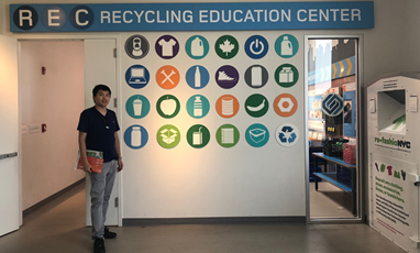 The CEO of our company visited the MRF (Material recycling factory) project of Sunset Park in New York City, New Jersey, and discussed cooperation with Sims.