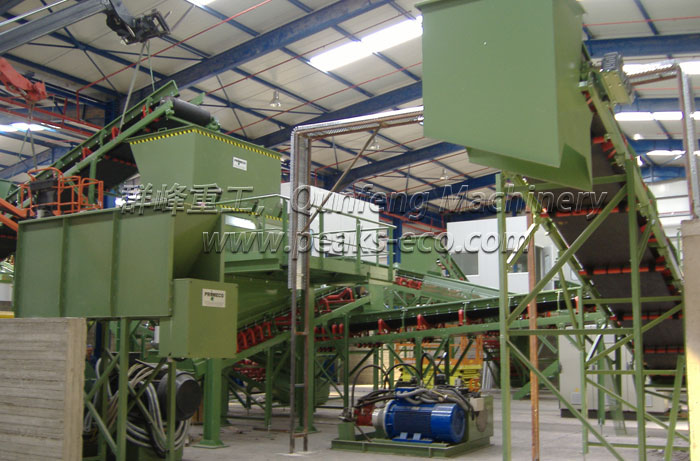 Waste Sorting System for Municipal and Household Waste