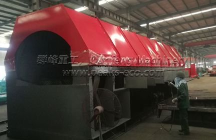 Main Features of Large Household Garbage Treatment Equipment