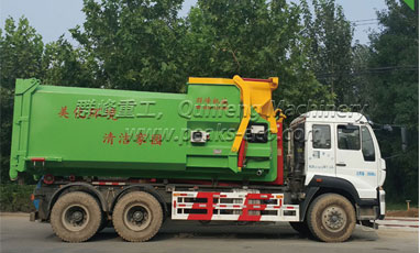 Common faults and troubleshooting methods of garbage compression equipment