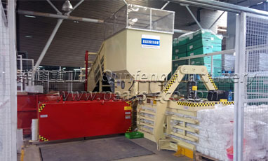The introduction of waste compacting machine