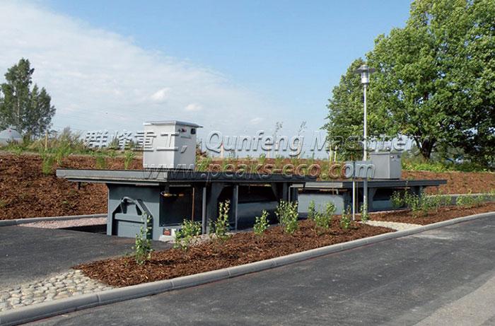 New Type Underground Waste Container System