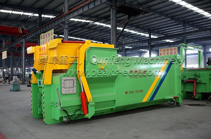 Intelligent Mobile Waste Compress Equipment