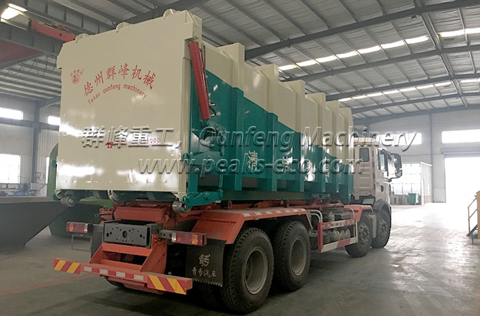Horizontal Waste Transfer Station Project