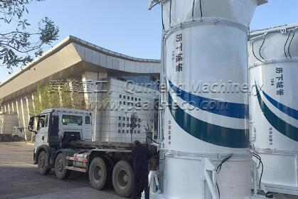 waste transfer station system
