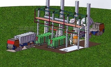 Waste transfer station systems are waste handling sites