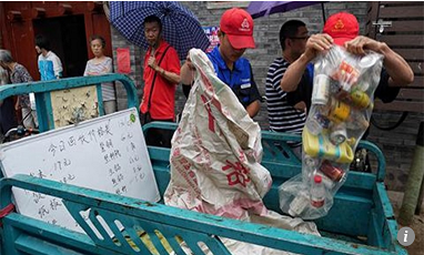 China ups war on waste with prizes for Beijing households sorting their own rubbish and recycling(Ⅰ)