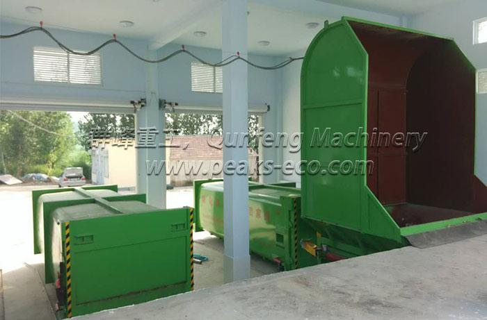 Waste Compression Machine