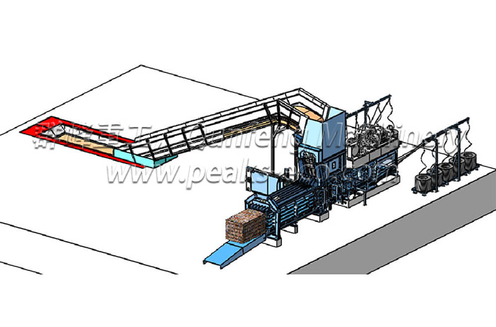 FDY 1250 C Semi Automatic Baler (Lengthen type)