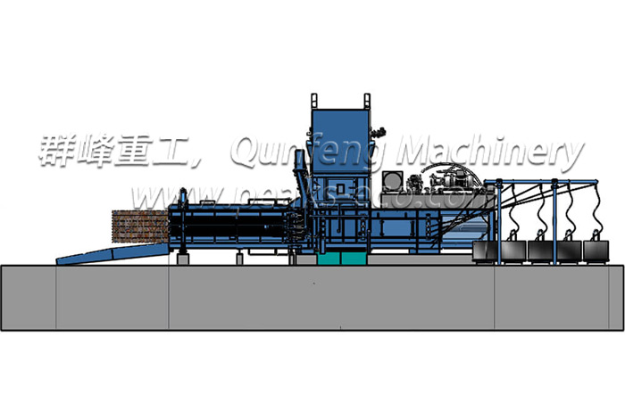 FDY 1250 B Full Automatic Baler
