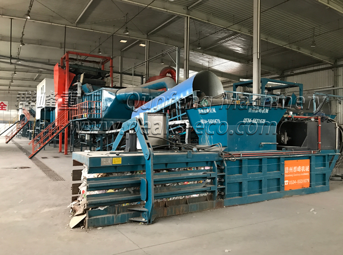 waste recycling machines