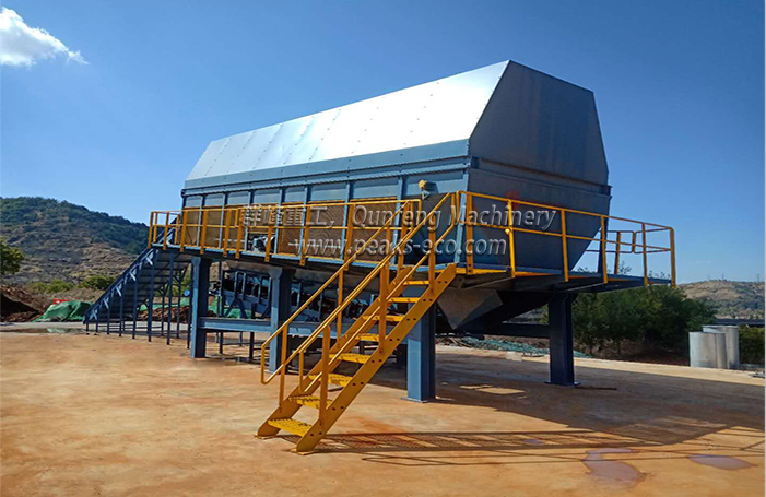 [Waste sorting system for sale]Trial operation of yunnan project
