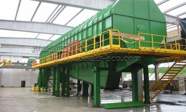 Sanitation equipment cleaning process