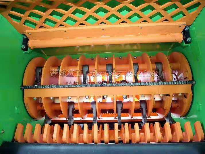 German Wilbald Mobile Biomass Crusher
