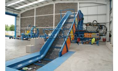 Process Flow of Fully Automatic Baler