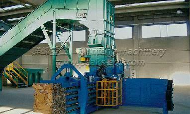 Hydraulic Cardboard Baling Machine China