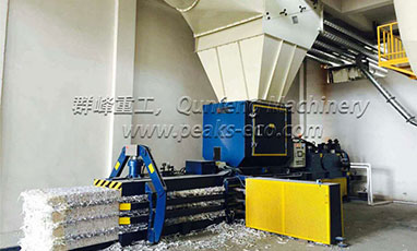 Fully Automatic Horizontal Hydraulic Baler