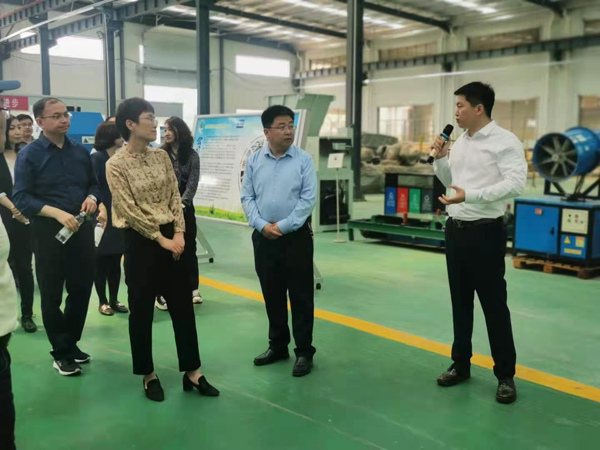 Leaders Of The State Intellectual Property Office Visited Dezhou Qunfeng