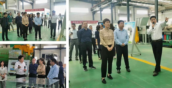 State Intellectual Property Office Leaders Visited Our Dezhou Production Base For Investigation