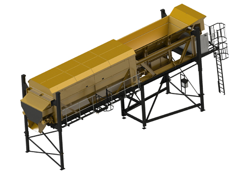 Qunfeng Heavy Industry Mobile Recycling Plant