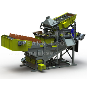 water flotation material recovery equipment