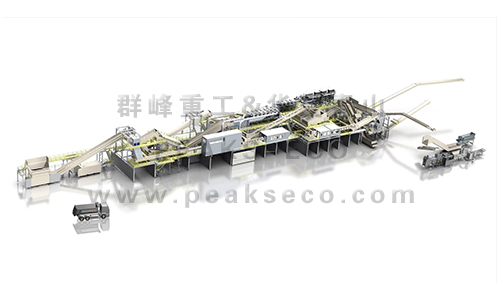 Commercial and industrial waste treatment system